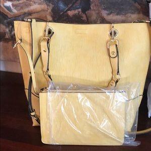 *NEW* Calvin Klein Yellow Handbag